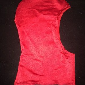Red Head Mask Costume Accessory